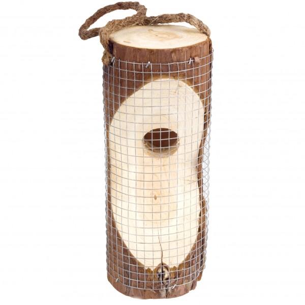 Vogelfuttersäule – die natürliche Vogelfutterstation aus naturbelassenem Holz von Gardigo