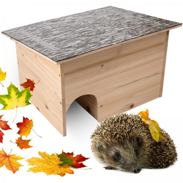 Igelhaus Bausatz DIY – das Igelhaus zum Zusammenbauen und aus Holz von Gardigo