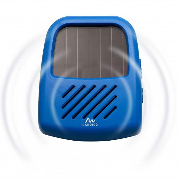 Vario-Schutz 3 in 1 Solar – der mobile Tiervertreiber mit Ultraschall und Solarpanel von Gardigo