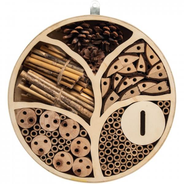 Insektenhotel Lebensbaum – der mystische Lebensbaum aus naturbelassenem Holz für die Artenvielfalt von Gardigo