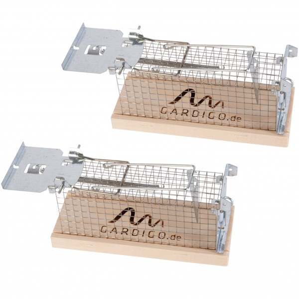 Gardigo Mouse Lifetrap set of 2 - made in Germany, easy to use