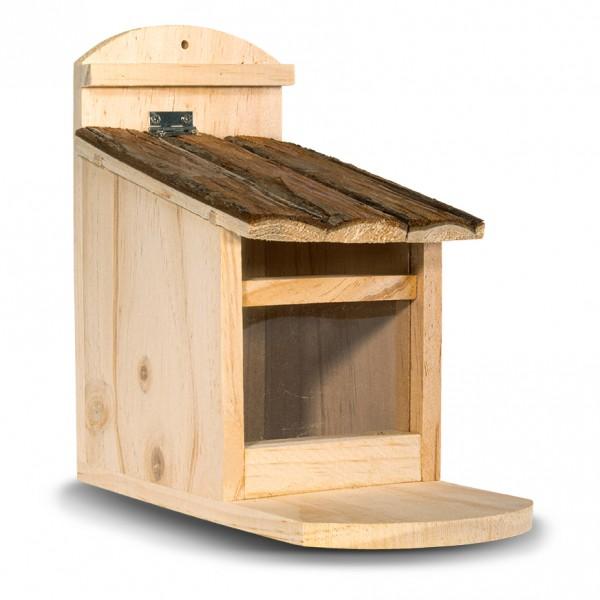 Eichhörnchen-Haus – die Eichhörnchen-Bar aus naturbelassenem Holz von Gardigo
