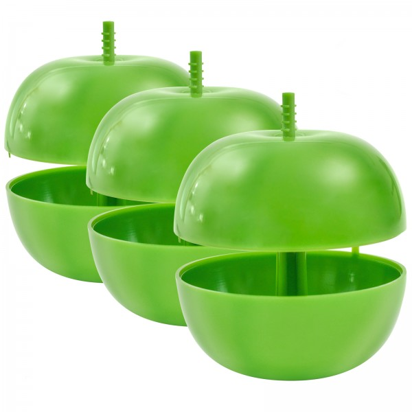 Fruit Fly Trap Apple, Set of 3