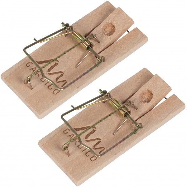 Wooden Mouse Trap, Set of 2