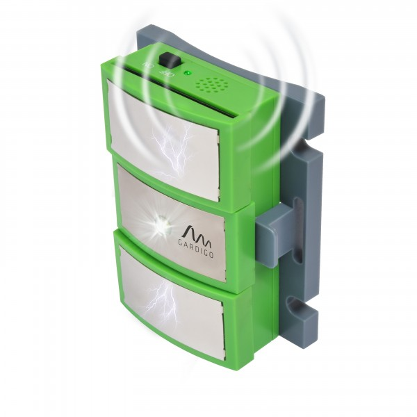 Marten-Repellent, Mobile – the versatile triple defence for your marten problem from Gardigo