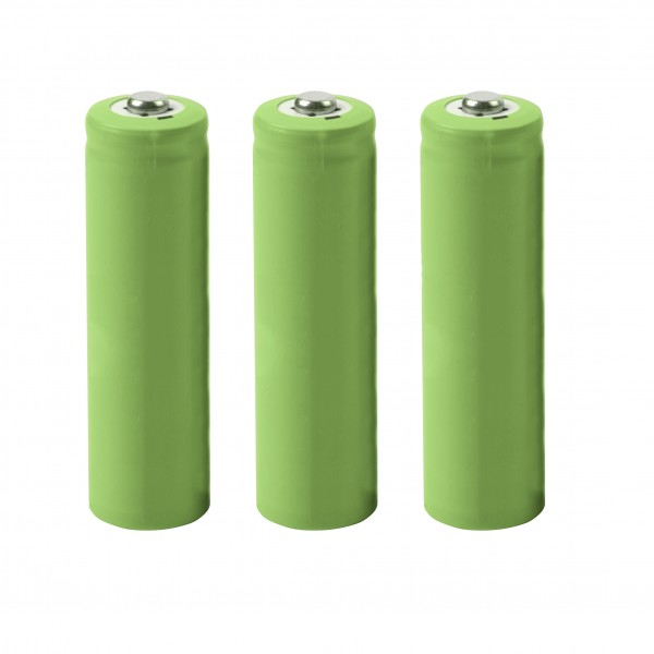 Rechargable Battery 1200mAh, Set of 3