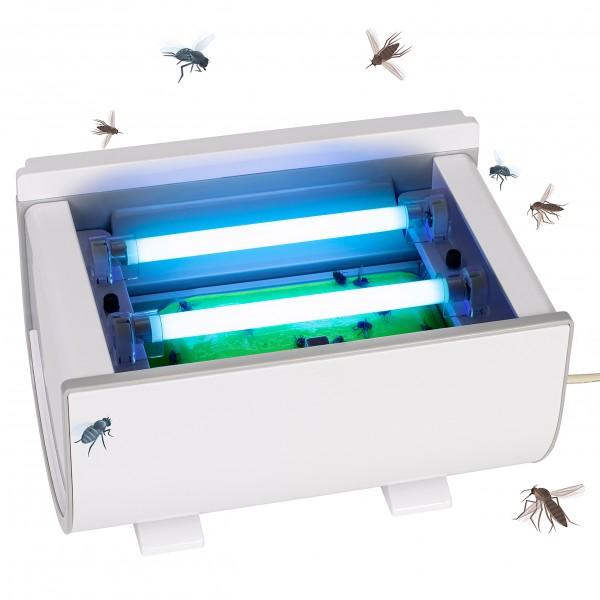 Insekten-Roll-Klebefalle mit Timer – die Insektenklebefalle, die sich automatisch aufrollt um weitere Fliegen zu fangen, von Gardigo