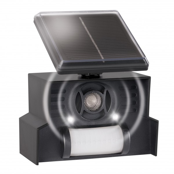 Cat and Dog Repellent, Solar – the solar-powered cat and dog scarer with flashlights from Gardigo