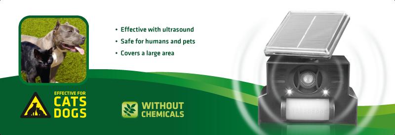 Cat and Dog Repellent, Solar