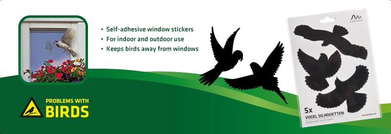 Anti-Collision Bird Stickers