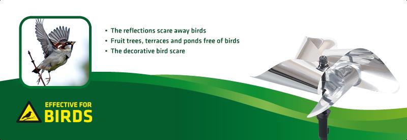 Bird-Scare Windmill