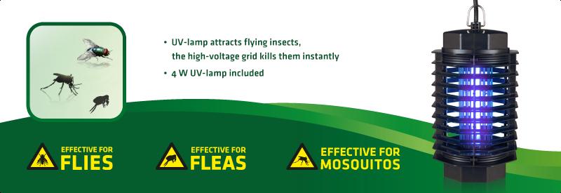 UV Insect Trap 50qm, Isokat Junior