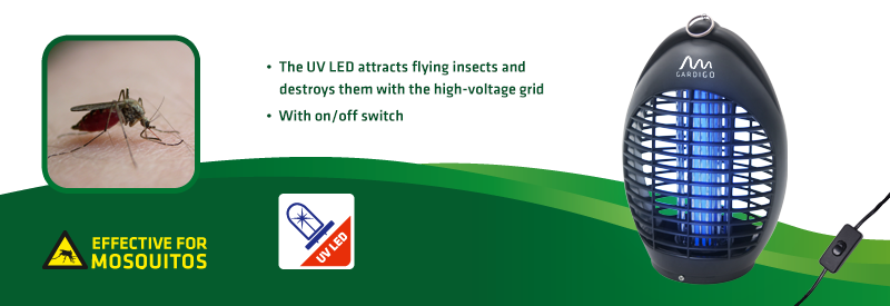 Flight Insects Repellant 20m² with UV-LED