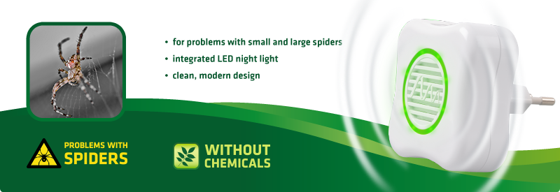 Spider-Repellent LED