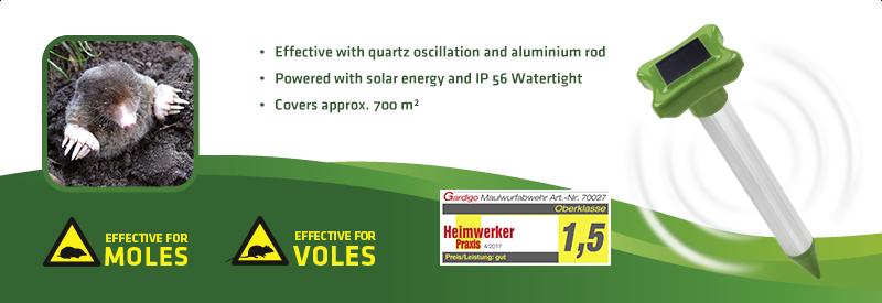 Solar Mole Repellent