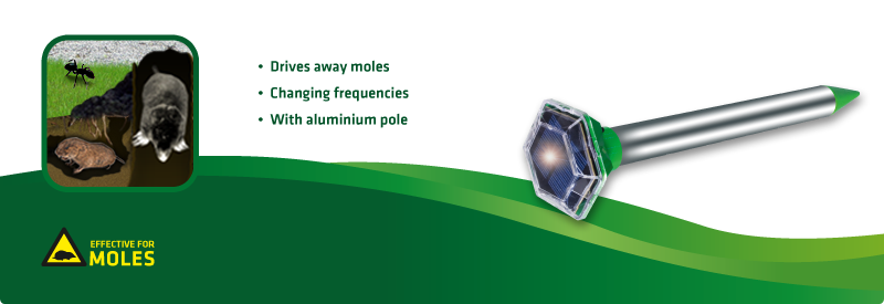 Solar Mole and Ant Repellent, Diamant